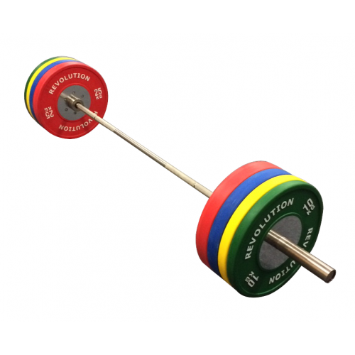 160KG ELITE COLOURED BUMPER SET