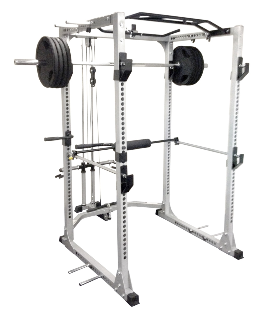 Bowflex Revolution Seated Lat Row: REVOLUTION POWER CAGE WITH LAT/ROW